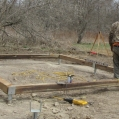 1. Tweed area Garden Shed: Site prepared and �Post Tech� 